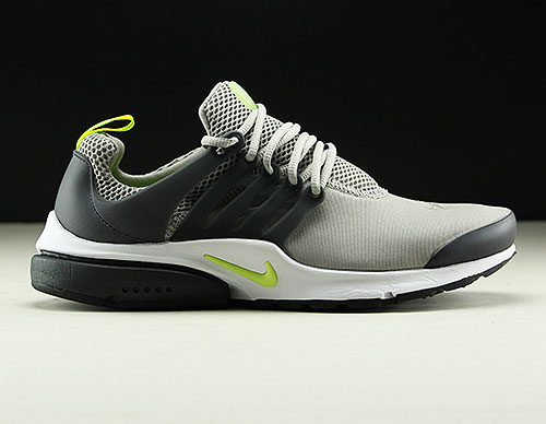 Nike Air Presto Essential Grau Neongelb Anthrazit 848187-014