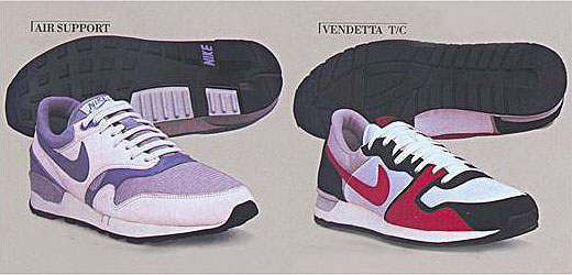 Nike Air Support + Nike Air Vendetta