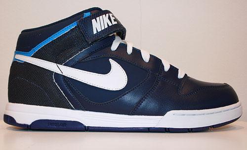 Nike Air Twilight Mid Schwarz Hellblau Grau Neongruen 343664