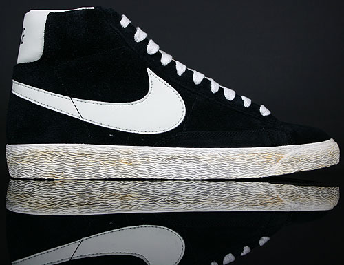 Nike Blazer High Vintage ND Schwarz Weiss Orange 375722-001