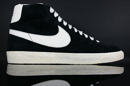 Nike Blazer High Vintage ND Schwarz Weiss Orange Sneakers 375722-001