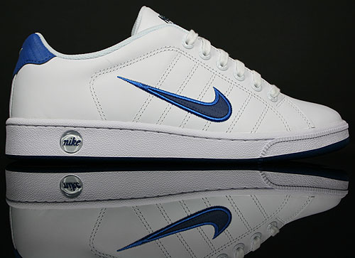 Nike Court Tradition 2 Weiss Blau Dunkelblau 315134-110
