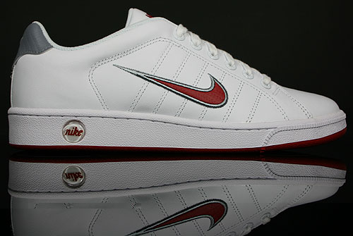Nike Court Tradition 2 Weiss Rot Grau 315134-100