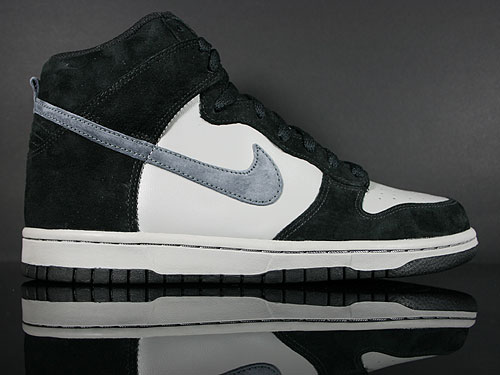 Nike Dunk High Schwarz Anthrazit Grau Sneakers 317982-036