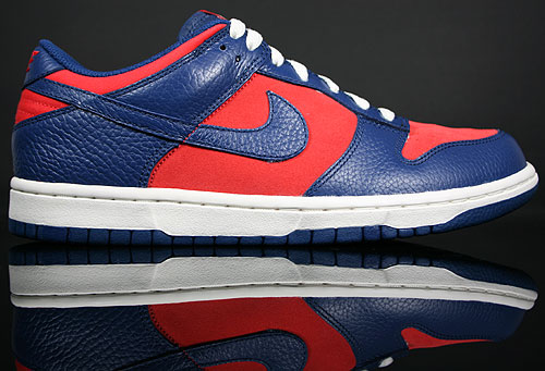 Nike Dunk Low CL Orange Blau Creme 318020-800