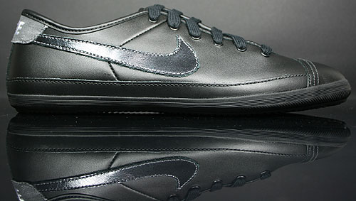 Nike Flash Leather Schwarz Weiss Grau 334627-018