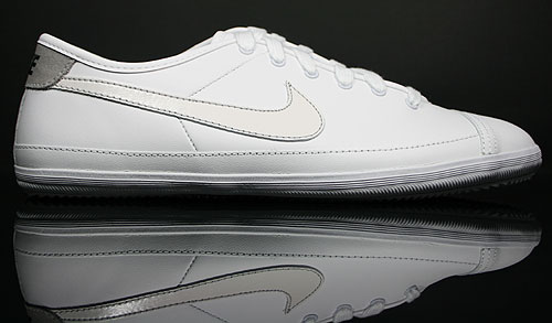 Nike Flash Leather Weiss Schwarz Grau 334627-109