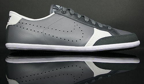 Nike Flyclave Leather Dunkelgrau Anthrazit Weiss 429879-002