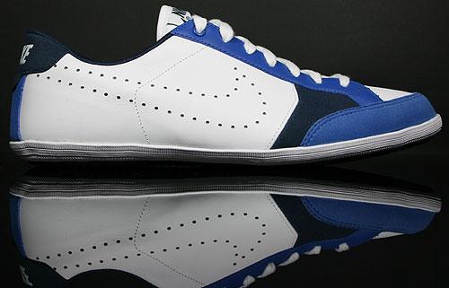 Flyclave Leather Purchaze Nike Dunkelblau Blau Weiss A4Lqcj3R5
