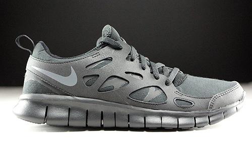 Nike Free Run+ 2 Schwarz Grau Weiss 537732 001 Purchaze