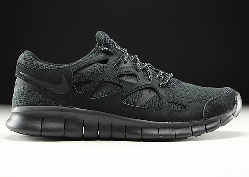 Nike Free Run 2 in Schwarz und Anthrazit - Purchaze