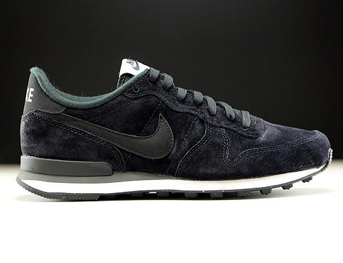 Nike Internationalist Leather Schwarz Dunkelgrau Weiß 631755-010