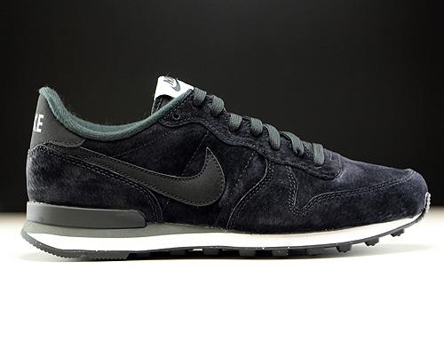 10403eefef Nike Internationalist Leather Schwarz Dunkelgrau Weiss 631755-010 - Purchaze