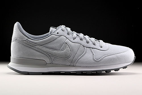 Nike Internationalist Premium Hellgrau Grau Weiss 828043-002