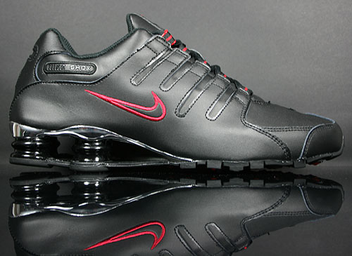 Nike Shox NZ Eu Weiss Schwarz Silber Rot