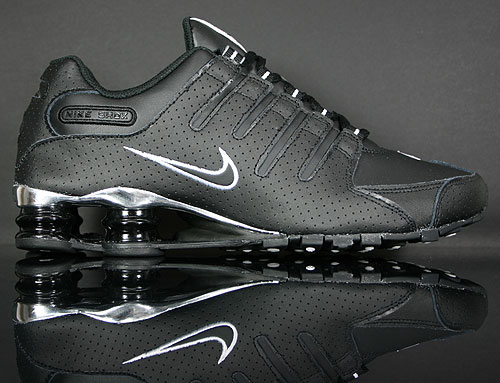 Nike Shox NZ EU Schwarz Weiss Silber 325201-020