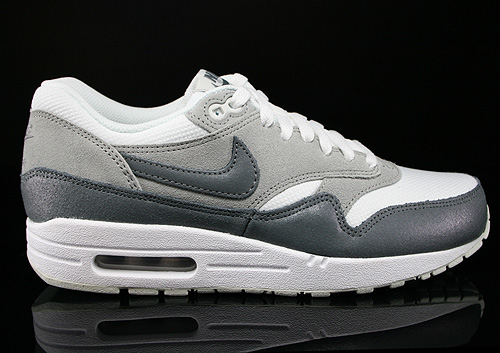 Nike WMNS Air Max 1 Essential Anthrazit Grau Weiss Sneaker 599820-108