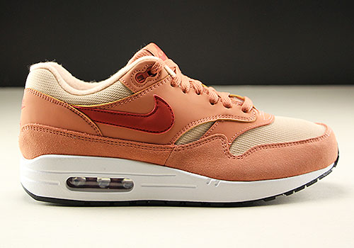 Nike WMNS Air Max 1 Rose Rot Beige 319986-205