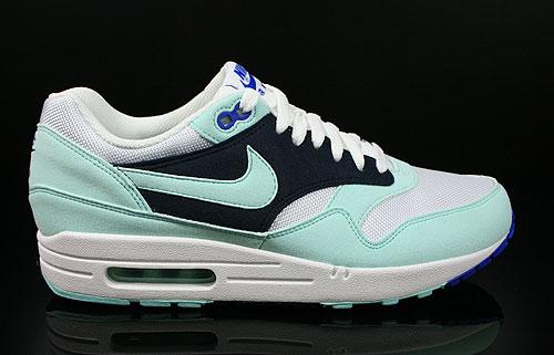 Nike Air Max Blau Weiß Beige