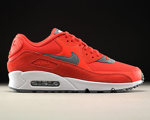 Nike WMNS Air Max 90 Orange Grau Weiss Purchaze