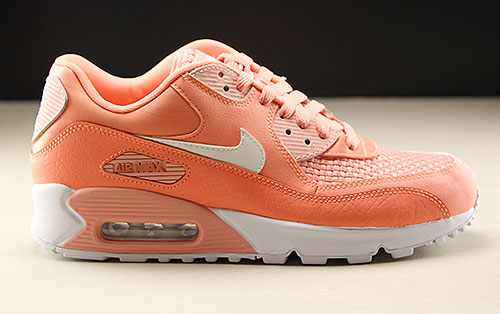 Nike WMNS Air Max 90 SE Orange Weiss 881105-604