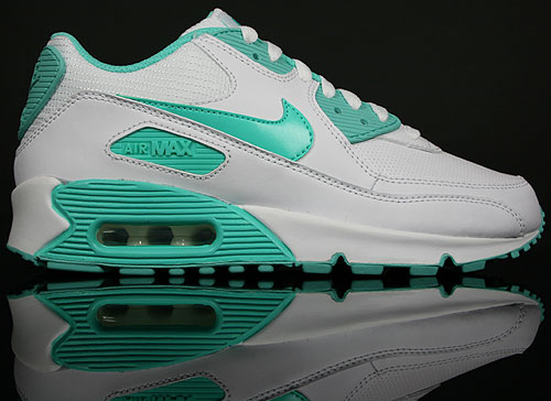 Nike WMNS Air Max 90 Weiss Cool Mint Gruen 309298-100