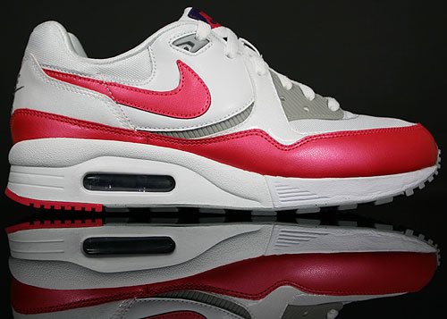 Nike WMNS Air Max Light Weiss Pink Grau Lila 354051-100