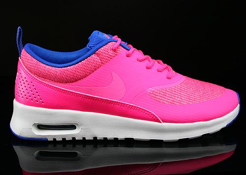 original nike air max thea in neon - pink