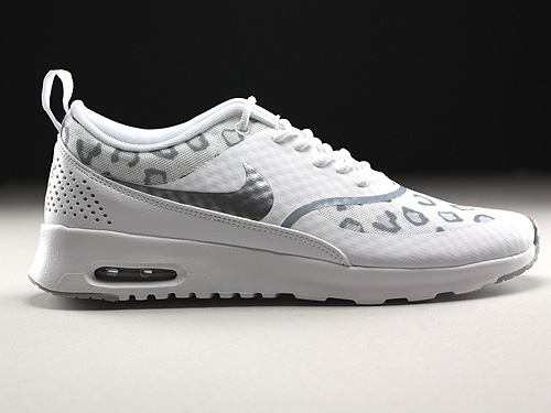 nike wmns air max thea print weiss grau silber 599408 101. Black Bedroom Furniture Sets. Home Design Ideas