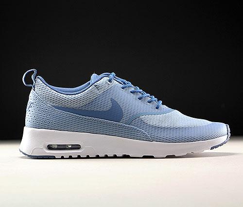 ba03ab304f9 Nike WMNS Air Max Thea Textile Blaugrau Stahlblau Weiss 819639-400