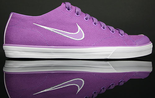 Nike WMNS Capri CNVS Violet Pop/Orange-Weiss 315774-500