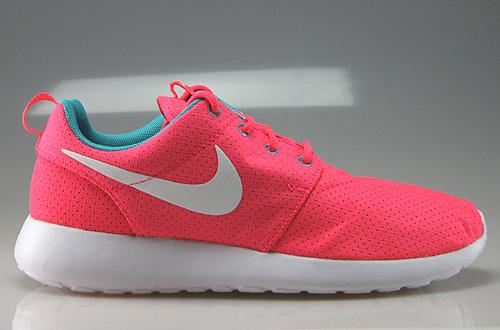 Nike Roshe Run Damen Grau Pink