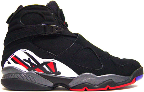 "Nike Air Jordan 8 VIII Retro ""BlackVarsity Red"""