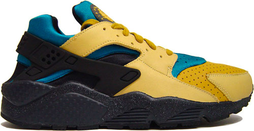 Nike Huarache Blue And Yellow