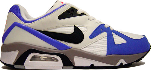 "2d6ebd848ed8 Nike Air Structure Triax 91 ""Metallic Summit White Black-Light Ultramarine"""