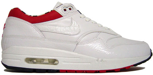 "hot sale online 06091 d8c95 Nike Air Max 1 Premium SP ""White White-Varsity Red-Black"""