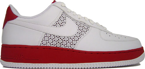 Nike Air Force 1 Low White And Red