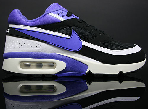 "separation shoes 0eca3 8d2b0 Nike Air Classic BW ""Black Persian Violet-White"""