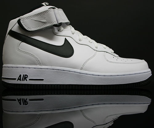Nike Air Force 1 Mid Weiss Schwarz