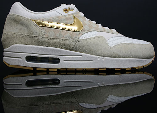 Nike WMNS Air Max 1 Creme Metallic Gold