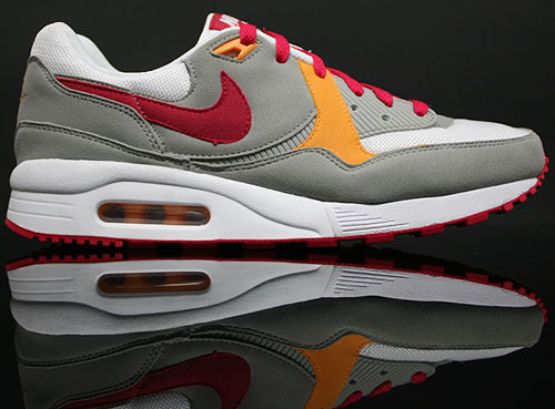 Nike WMNS Air Max Light Grau Weiss Rot Melone