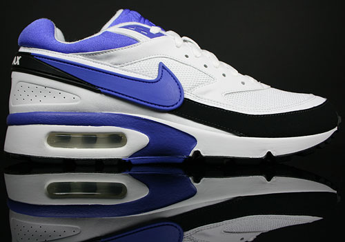 nike air max classic bw black persian violet white