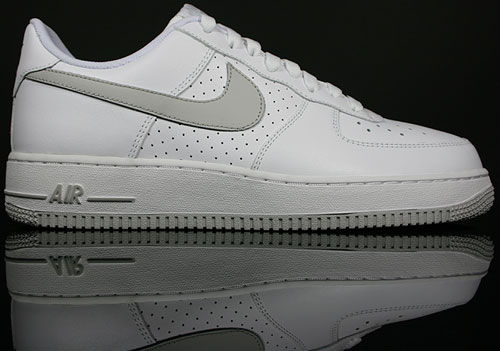 Nike Air Force 1 Low Weiss/Grau