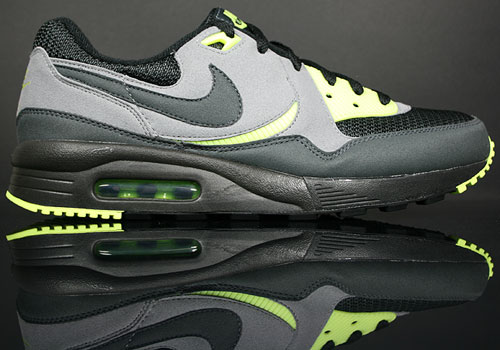 Nike Air Max Light Schwarz/Anthrazit-Neon Gelb-Grau