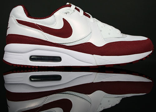 Nike Air Max Light Weiss/Rot-Gold