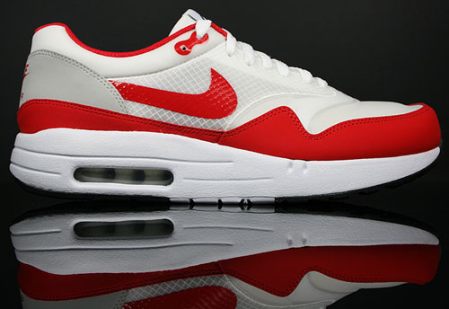 Nike Air Maxim 1+ Weiss/Rot-Grau