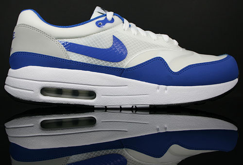 Nike Air Maxim 1+ Weiss/Royal Blau-Grau