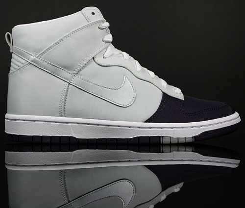 Nike Dunk Hi WMNS Skinny Lila/Silber-Grau