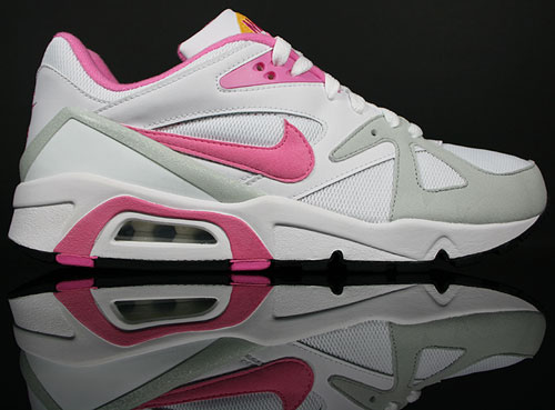Nike WMNS Air Structure Triax 91 Weiss/Pink-Melone-Grau