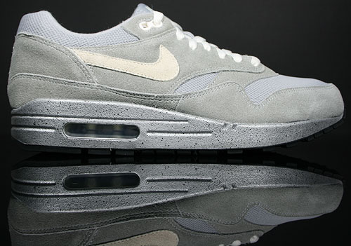Nike WMNS Air Max 1 Metallic Silver/White-Black
